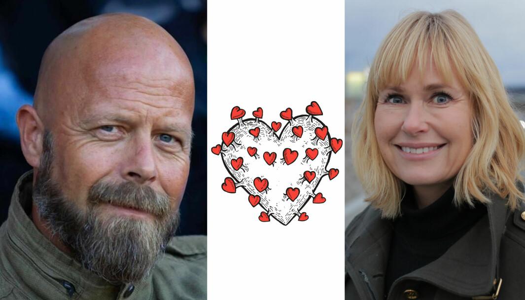 Terje Johansen er pedagogisk medarbeider i Norlandia Sten-Tærud kulturbarnehage. Nå inviterer han til nasjonal barnehagemarkering sammen med PBL - her ved administrerende direktør Anne Lindboe.