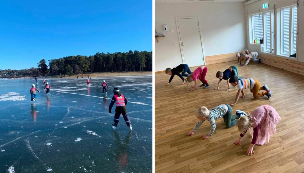 Barna i Tubus idrettsbarnehage i Sarpsborg er vant til å prøve ut ulike former for fysisk aktivitet. Nå er barnehagen godkjent som helsefremmende barnehage - for andre gang.