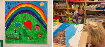 Barnehagebilder auksjonert bort for 24 000 kroner