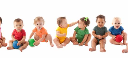 Færre barn går i barnehage - men flere ettåringer