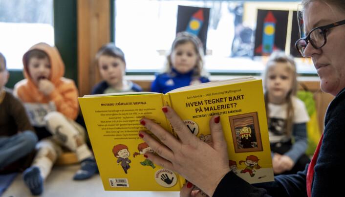 Når barna selv ber om bøkene om Leon og Live, er det lett å få lest mer i barnehagehverdagen.