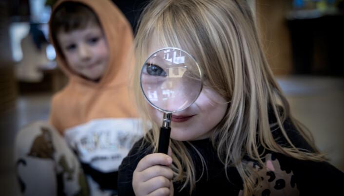 Det er mange mysterier i alle barnehager!