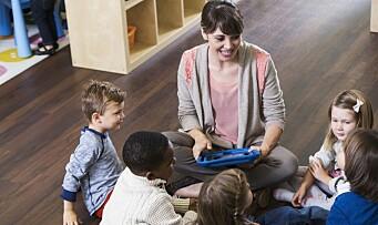 Hvordan påvirker digitale bildebøker barns forståelse av innholdet i fortellingen?