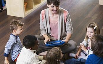 Hvordan påvirker digitale bildebøker barnas forståelse av innholdet?