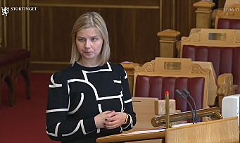 Har sendt forslag om endringer i barnehageloven til Stortinget