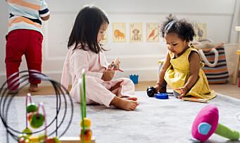 Barnehagens språkarbeid og regjeringens politisk spill