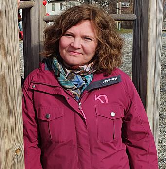 """<span class="""" italic"""" data-lab-italic_desktop=""""italic"""">Kathrin Olsen er faggruppeleder for barnehagelærerutdanningen ved Nord universitet - som fyller 50 år i år.</span>"""