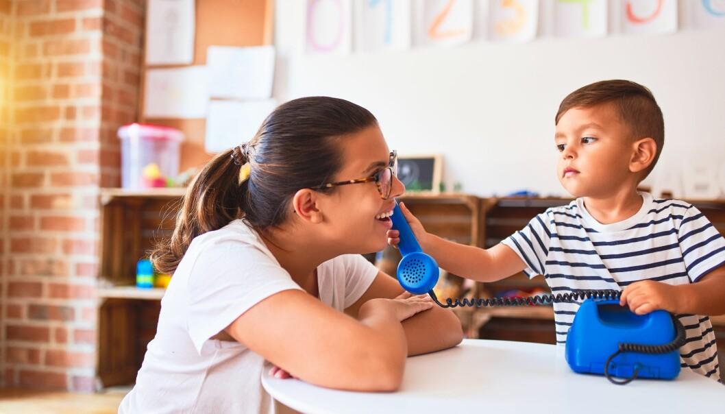 – Personlig frykter jeg at mer utstrakt bruk av formell vurdering og kartlegging i barnehagene kan føre til en form for negativ pedagogikk hvor man blir for opptatt av å avdekke barnas mangler, i stedet for å oppdage barnas styrker og spille videre på disse, skriver Lars I. Vandli.