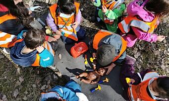 Nå har barna i barnehagen vært ute 365 dager i strekk