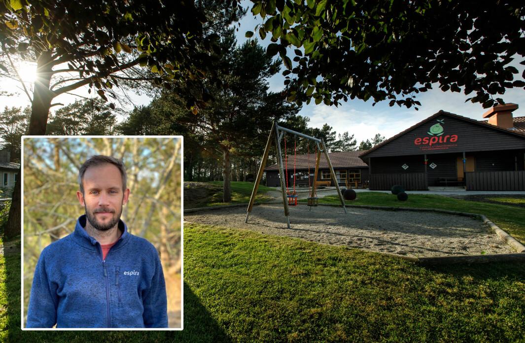Espira Salamonskogen på Bømlo er en av fire lærerutdanningsbarnehager i samarbeid med Høgskulen på Vestlandet, noe styrer Heine Larsen er veldig fornøyd med. Prosjektet går i gang fra høsten av.