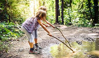 Naturen er verdens beste og største lekeplass!
