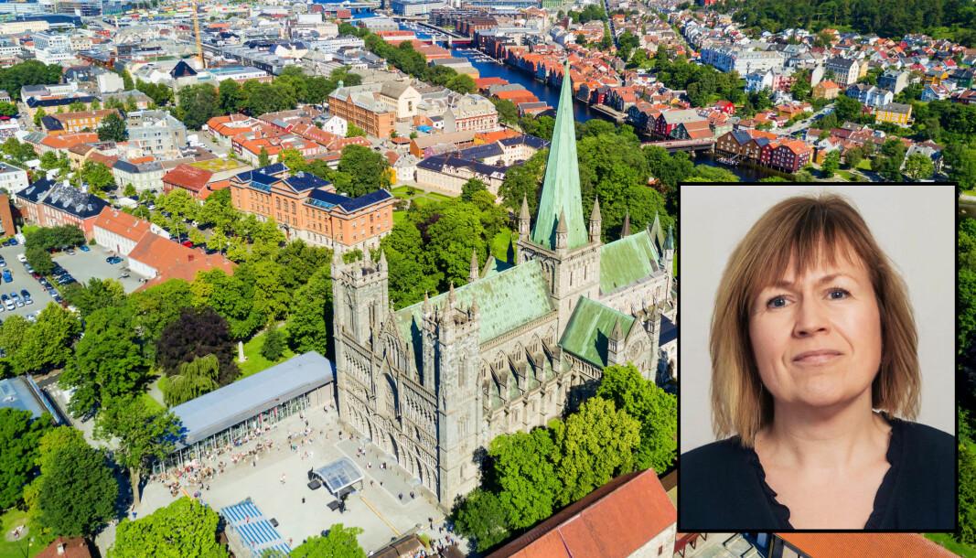Gry Camilla Tingstad er leder for Utdanningsforbundet i Trondheim. Hun mener tilbudet fra arbeidsgiversiden var for dårlig.