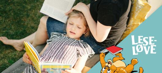 Gi barna mestringsfølelse i lesing med Leseløver