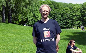 Unio-streiken trappet opp