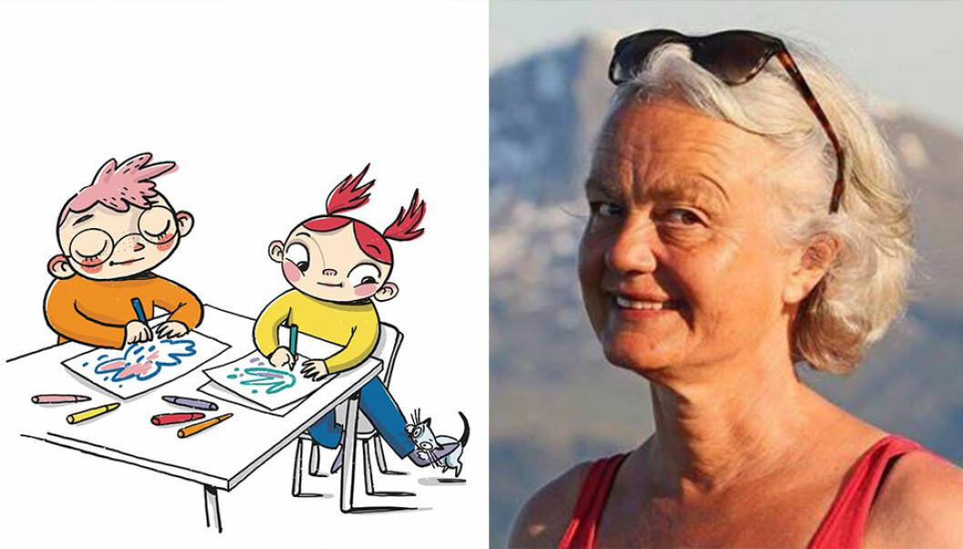 Forfatter Birte Svatun er utdannet lærer, og har jobbet både i skolen og som pedagogisk leder i barnehage. Hun har også ti års fartstid som journalist i NRK Radio.