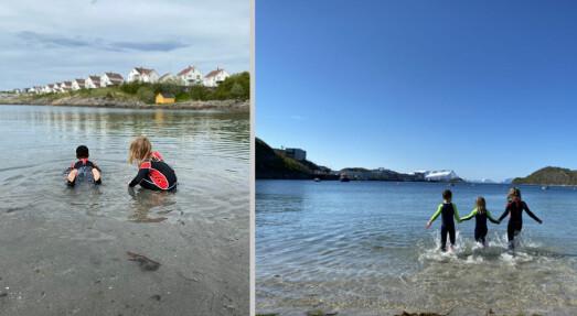 Den viktige svømmeopplæringen for barnehagebarna