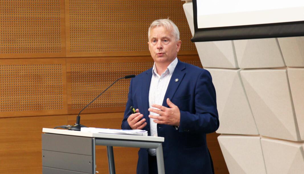 Knut Storberget har ledet utvalget som har kommet med forslag om framtidens finansieringsmodell for private barnehager.