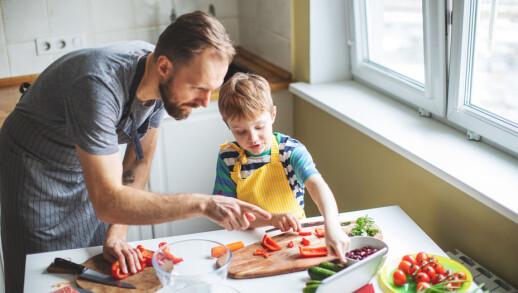 Mat er viktig, barn er viktige, helsen deres er viktig i unge år