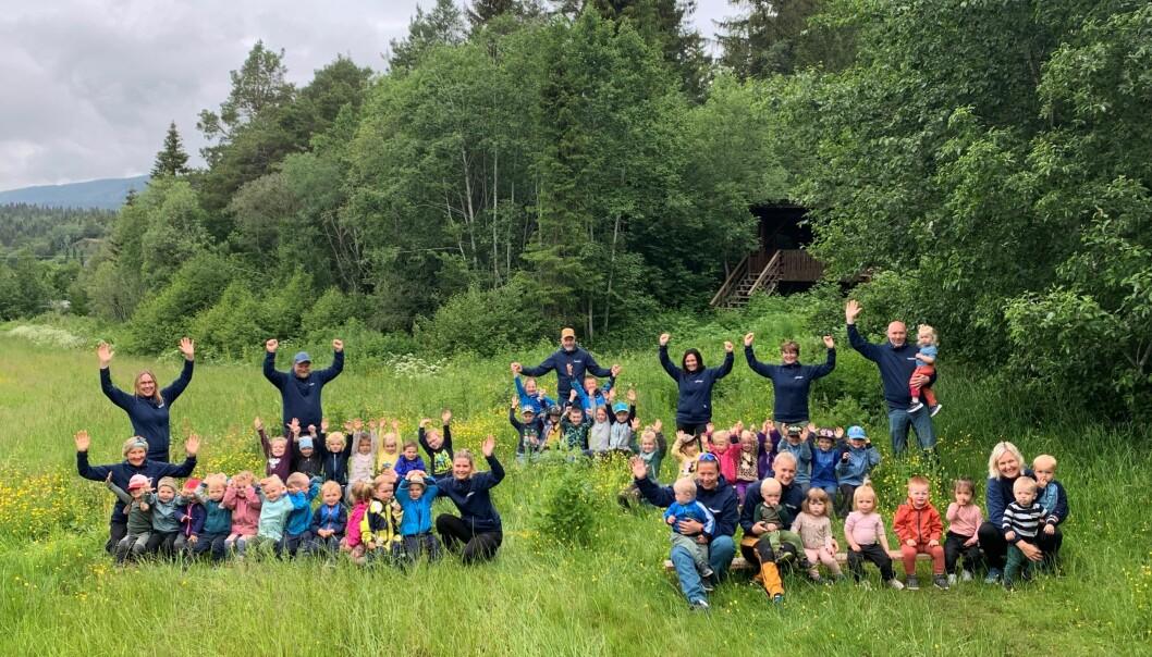 Læringsverkstedet Geitspranget naturbarnehage er nominert til Årets barnehage 2021