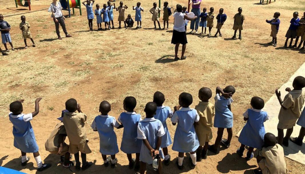 Espira og SOS-barnebyer samarbeider om å drifte en barnehage i Bindura i Zimbabwe.