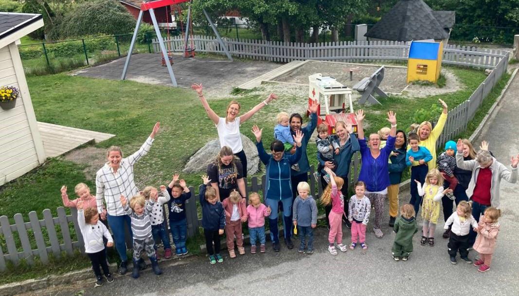 NLM barnehagene AS, avd. Tryggheim barnehage, Ålesund er nominert til Årets barnehage 2021