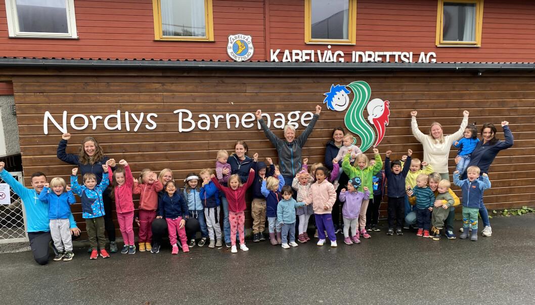 Nordlys barnehage er nominert til Årets barnehage 2021.