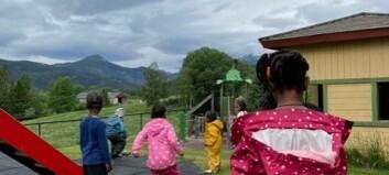 Barnehage for norske barn på asylmottak i Valdres: – Fornøyde foreldre har alt å si!