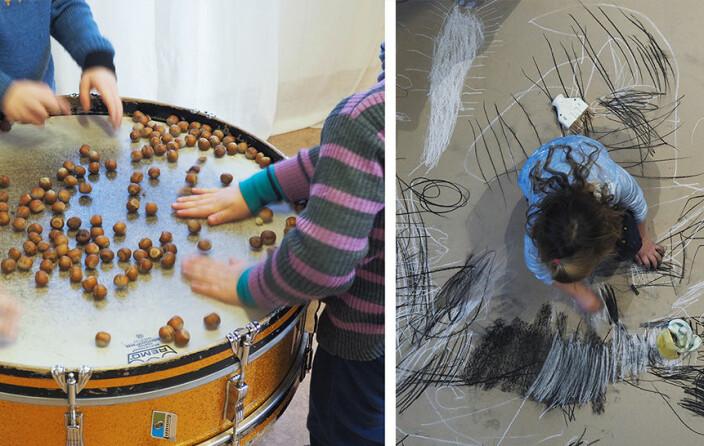 – En perfekt kombinasjon at barn og kunstnere kan utforske sammen