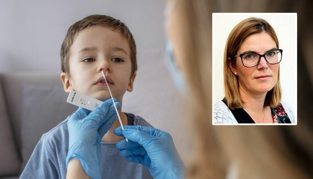 Tone Kristin Bjordal Johansen (innfelt) er seniorforsker ved avdeling for smittevern og beredskap hos Folkehelseinstituttet. Denne uken gjestet hun PBL Lederkonferanse for å snakke om smittesituasjonen i barnehagene - og veien videre.