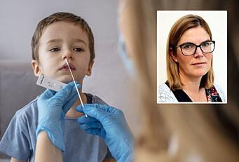 – Viktig å huske at barna ikke kan tvinges til å testes