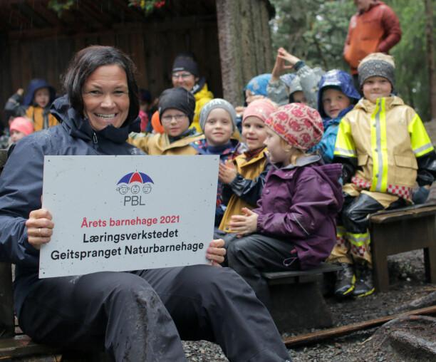 Ble nominert 14 ganger: Her er årets barnehage