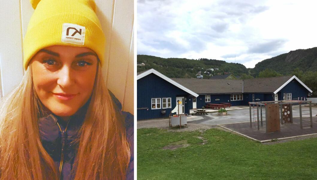 Christine Klette er daglig leder i Norlandia Vollen naturbarnehage i Bodø.