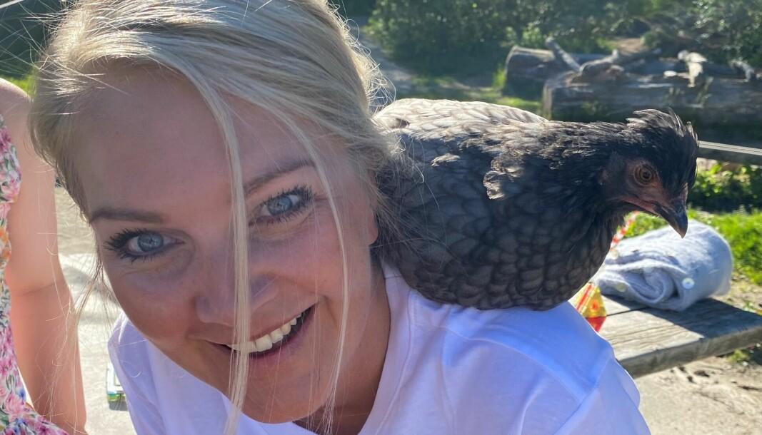 Anne Bente Bell er daglig leder for Bogafjellbakken naturbarnehage i Sandnes.