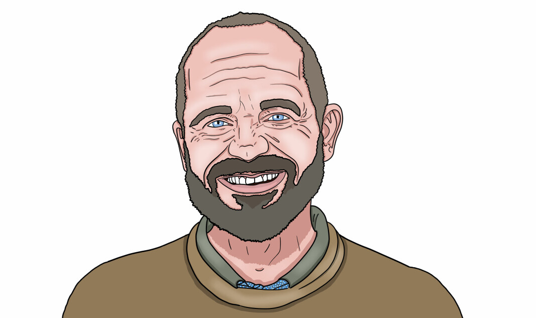 Jostein Paulgård Østmoen får studentene til å føle seg viktige - og har lært seg navnet på samtlige. Det er litt av grunnen til at han kan bli Årets barnehageinspirator.