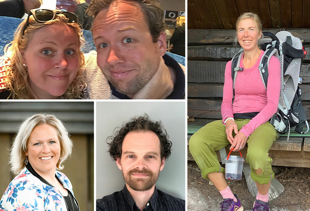 Maren Løken og Fredrik Borchsenius (oppe til venstre), Mariann Hodnefjell, Ørjan J. Langnes og Kristin Størmer Steira (til høyre) er blant de som har gitt høringssvar.