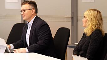 """<span class="""" italic"""" data-lab-italic_desktop=""""italic"""">Direktør for arbeidsgiveravdelingen Espen Rokkan og administrerende direktør Anne Lindboe skal på vegne av PBL forhandle om årets mellomoppgjør med Fagforbundet, Utdanningsforbundet og Delta.</span>"""