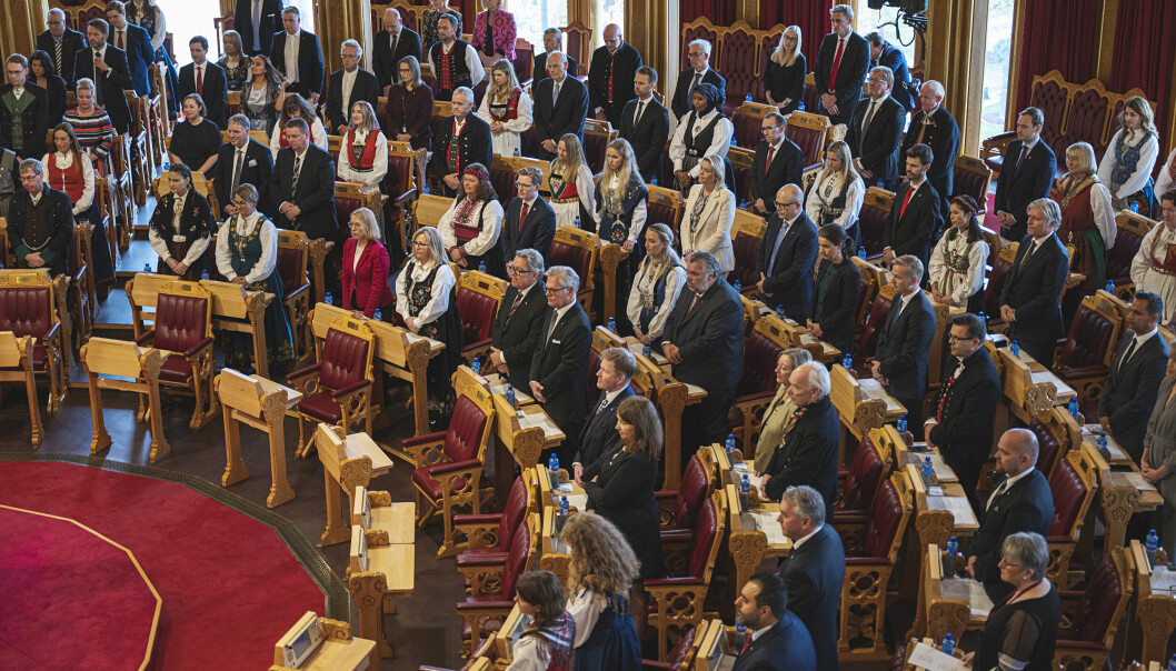 Stortinget ble høytidelig åpnet denne uken.