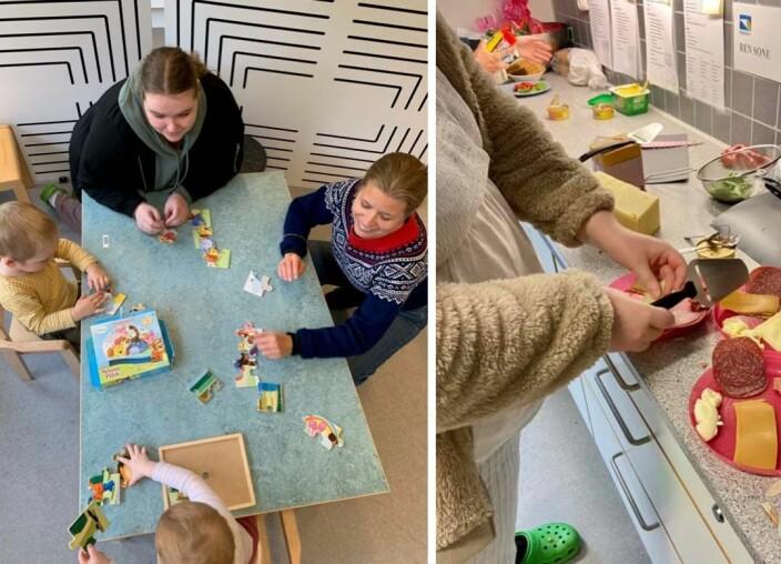 Prøveprosjekt: Seks Oslo-barnehager får ansette kjøkkenassistent i to år